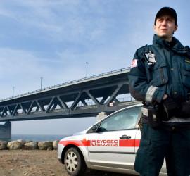 Certifierat bevakningsföretag Sydsec Bevakning larm väktare hemlarm villalarm kamera